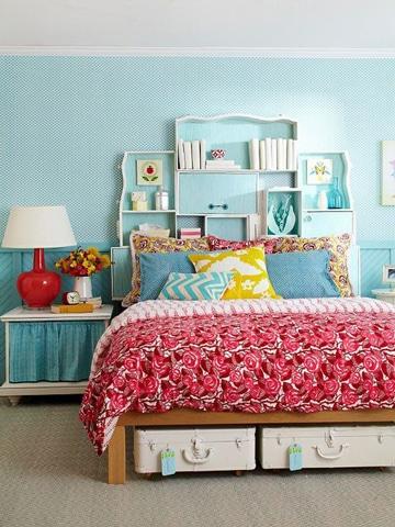 imagenes de cuartos pintados de azul