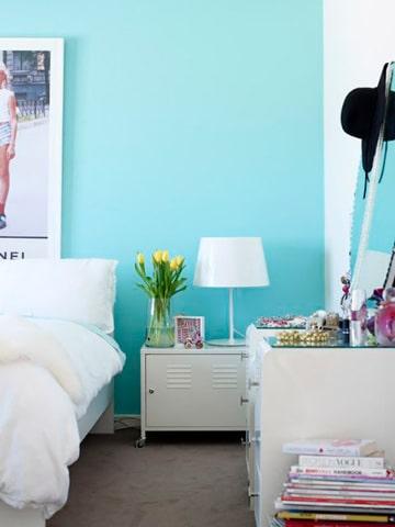 Mira estas encantadoras imagenes de cuartos pintados