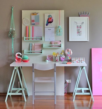 imagenes para decorar cuartos de estudio