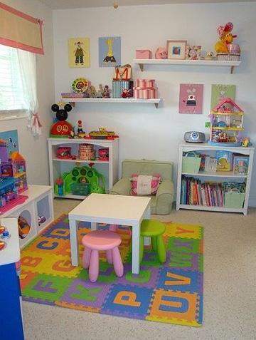 imagenes para decorar cuartos infantiles
