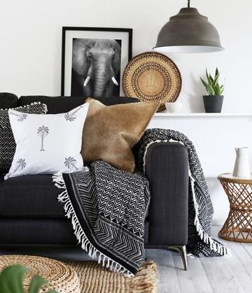 modelos de cojines para muebles con estilo