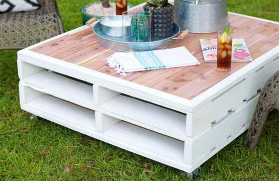 muebles de madera reciclada palets