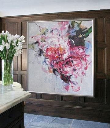pinturas modernas al oleo abstractas