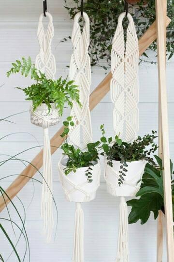 maceteros colgantes para balcones con reciclaje