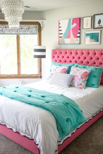 Ideas de pintura y colores para dormitorios de mujer - Colores de pared para habitacion ...
