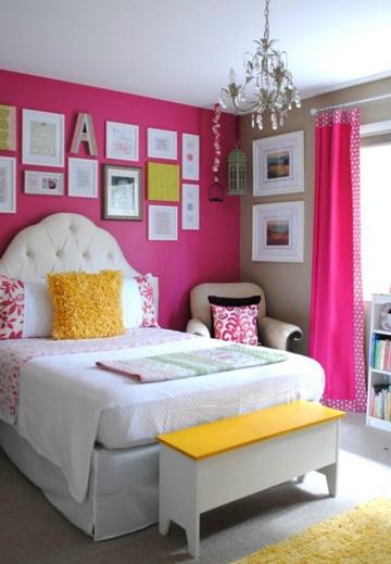 colores para dormitorios de mujer moderna