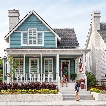 colores para pintar la casa por fuera tonos claros
