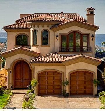 Diversidad de colores para pintar la casa por fuera - Colores para pintar una casa por fuera ...