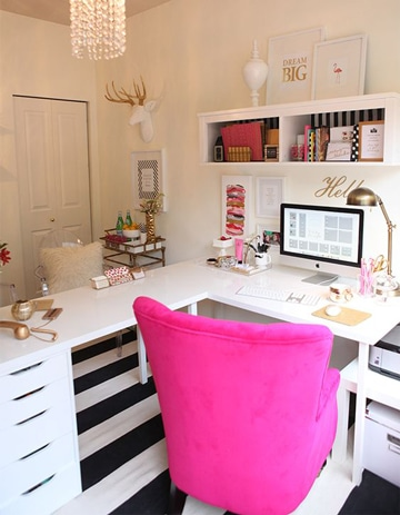 Ideas sencillas de como decorar una oficina de trabajo como decorar mi cuarto for Como adornar una oficina