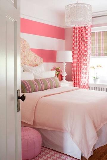 como pintar una habitacion juvenil femenina
