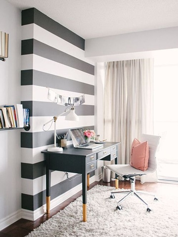Adornos e ideas de como pintar una habitacion juvenil for Como pintar una habitacion