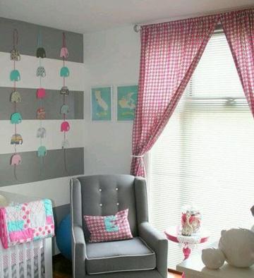 cortinas para habitacion de bebe ideas decoracion