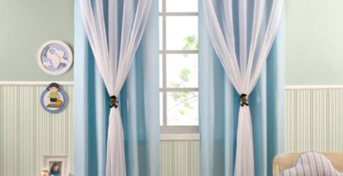 Colores y estampados de cortinas para habitacion de bebe