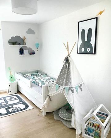 Adornos e ideas para la decoracion cuarto de bebe varon for Objetos decoracion habitacion bebe