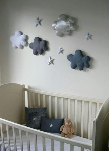 Adornos e ideas para la decoracion cuarto de bebe varon for Cuartos de ninas sencillos