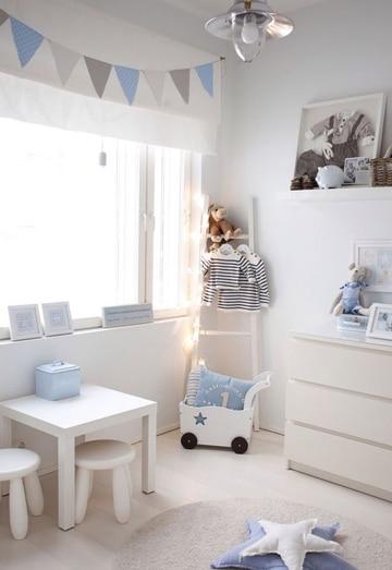 Adornos e ideas para la decoracion cuarto de bebe varon - Habitacion de bebe decoracion ...