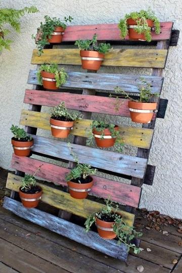 decoracion de jardines con macetas pequeñas