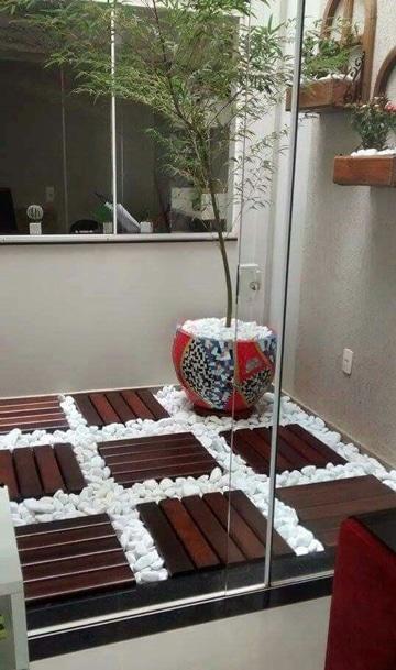 decoracion de patios internos sencillos