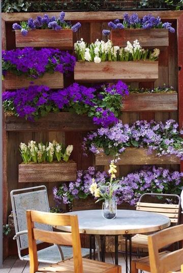 decoracion de terrazas con plantas en macetas