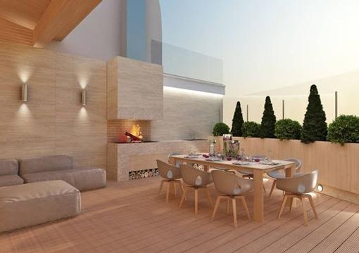 Reglas infalibles para la decoracion de terrazas modernas for Diseno terrazas modernas