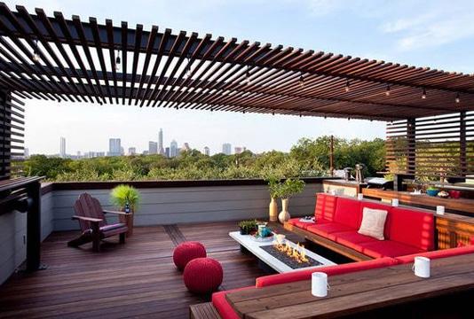 decoracion de terrazas modernas grandes