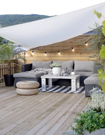 decoracion de terrazas techadas con estilo