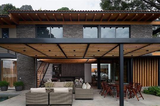 decoracion de terrazas techadas modernas