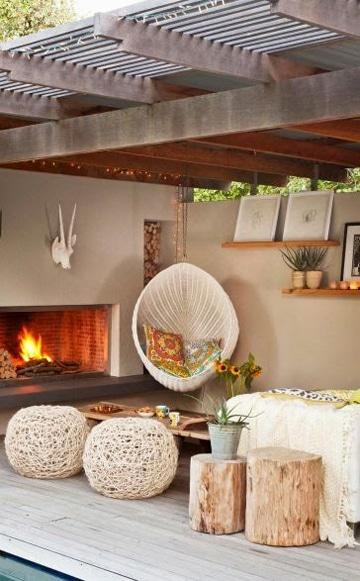 Consejos sencillos para la decoracion de terrazas techadas for Consejos decoracion