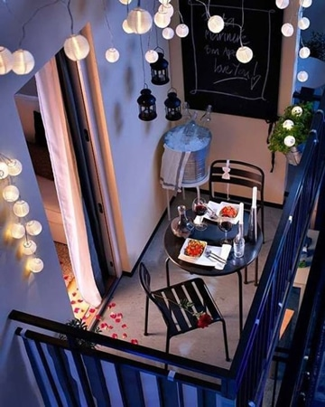 diseño de balcones para casas pequeñas sencillos