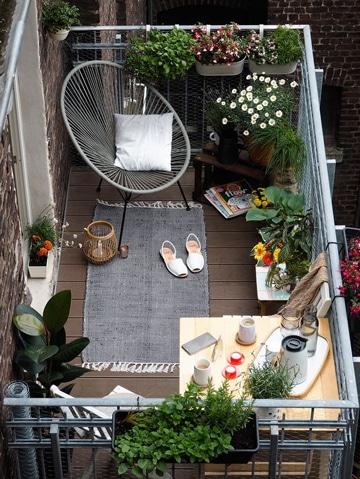 diseño de balcones para casas pequeñas super lindos