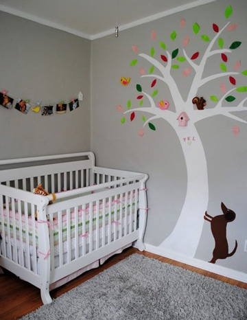 habitaciones de bebes decoradas para niñas