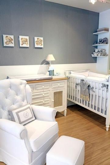 habitaciones de bebes decoradas tonos neutros