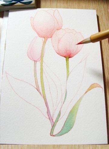 tecnicas para pintar flores faciles