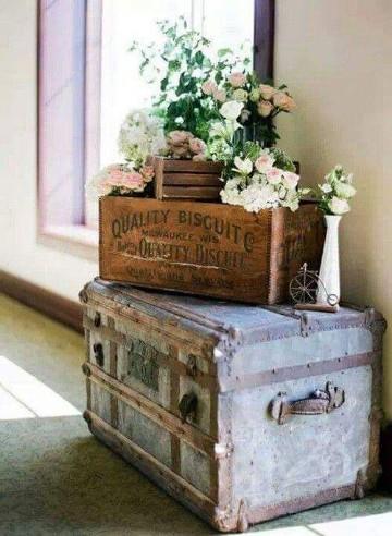 adornos vintage para el hogar interiores