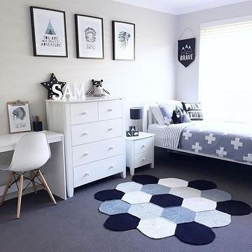camas para cuartos pequeños modernos