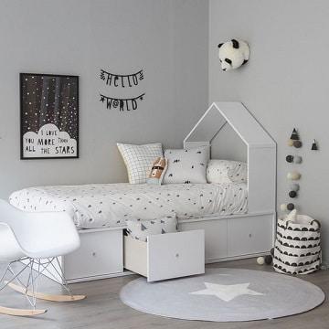 camas para cuartos pequeños para niña