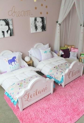 camas para niños de dos años gemelas