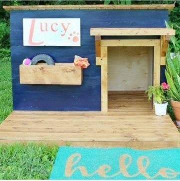 casas para perros caseras facil
