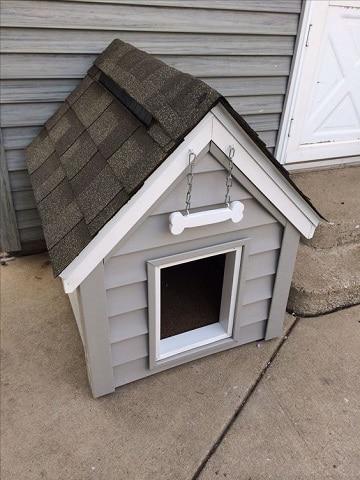 casas para perros caseras idea