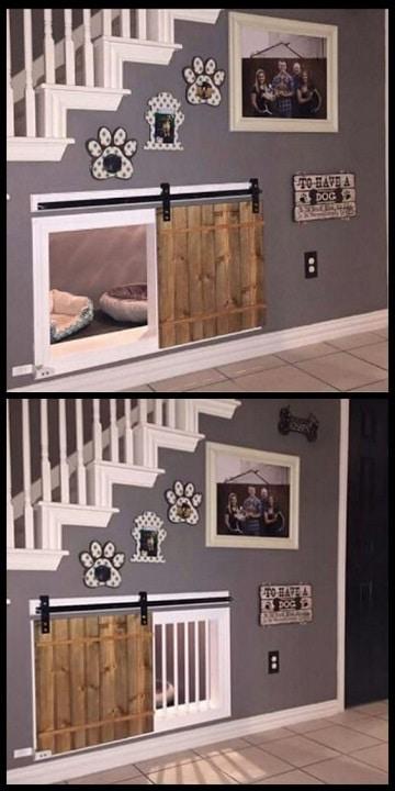 Imagenes y fotos de casas para perros peque os como - Escaleras para perros pequenos ...