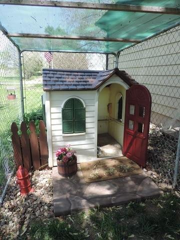 casas para perros pequeños plasticas