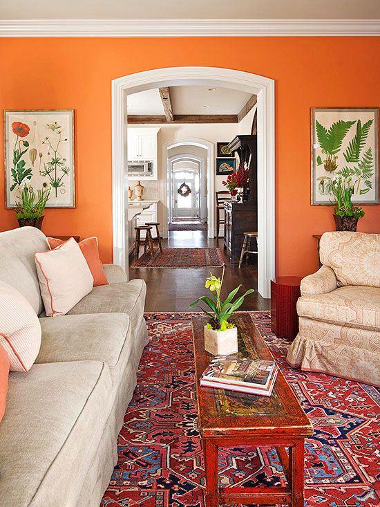 colores calidos para interiores de casas