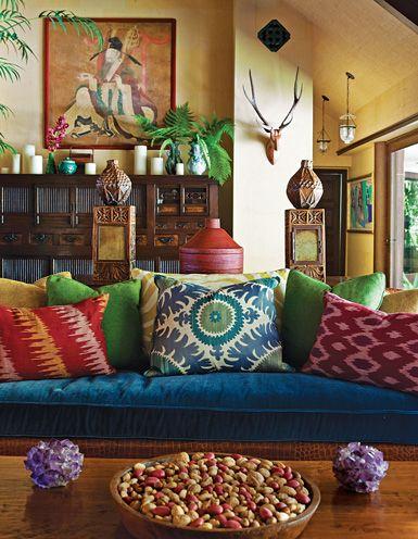 colores calidos para interiores pequeñas