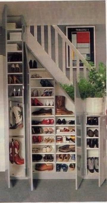 como organizar mis zapatos en casa