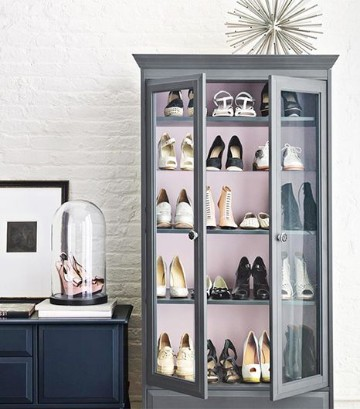 como organizar mis zapatos ideas