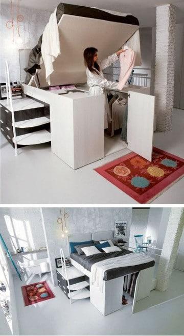 como organizar un dormitorio pequeño ideas