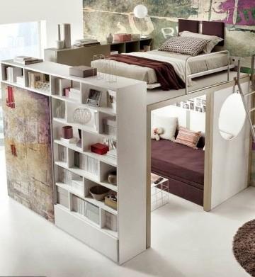 como organizar un dormitorio pequeño juvenil