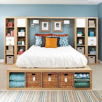 como organizar un dormitorio pequeño para dos