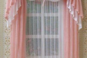 Decorados con cortinas para dormitorio de niña
