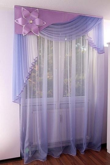 cortinas para dormitorio de niña ideas